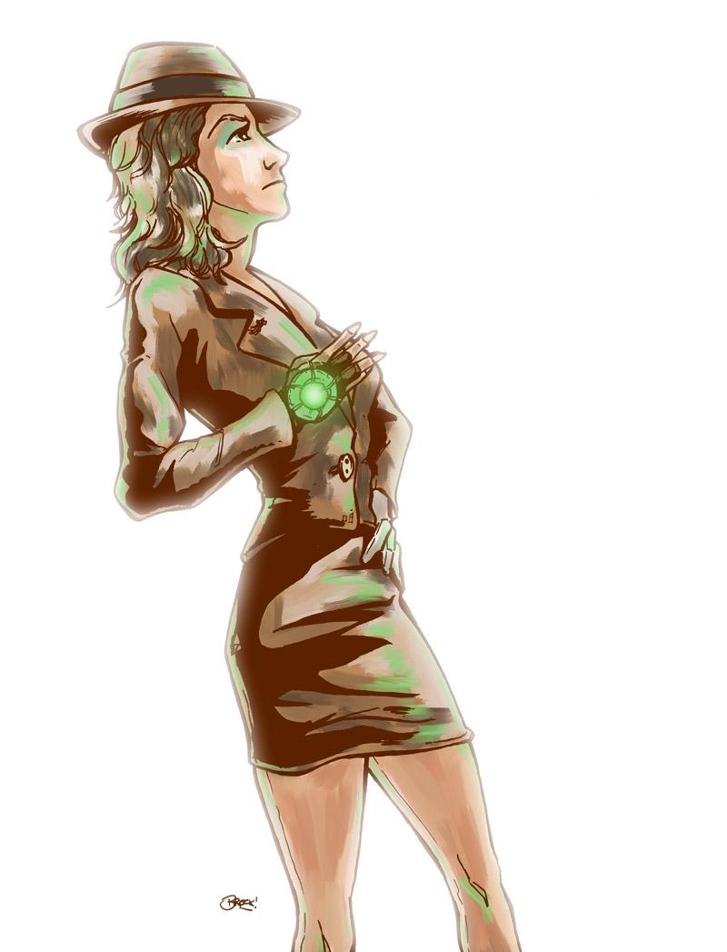 Vivian Concept Art